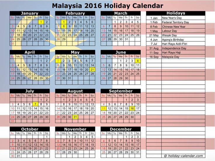 September 2017 Calendar Malaysia – imvcorp