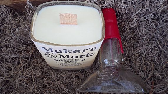 how to make a bourbon scented candle