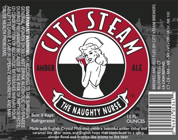 beers city steam naughty nurse
