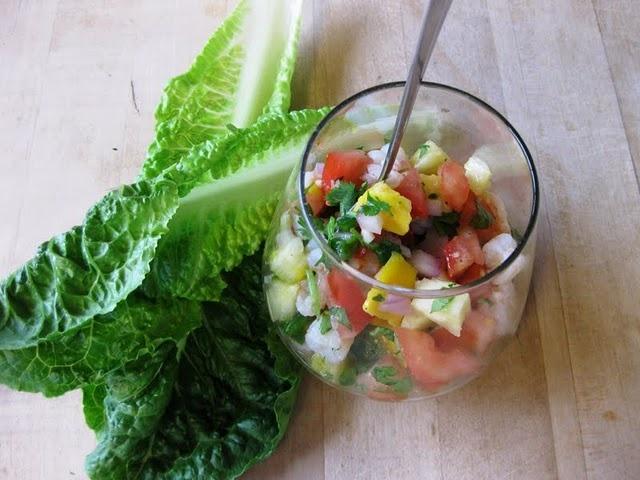 Tropical Shrimp Ceviche - Yum! | Food Pr0n | Pinterest