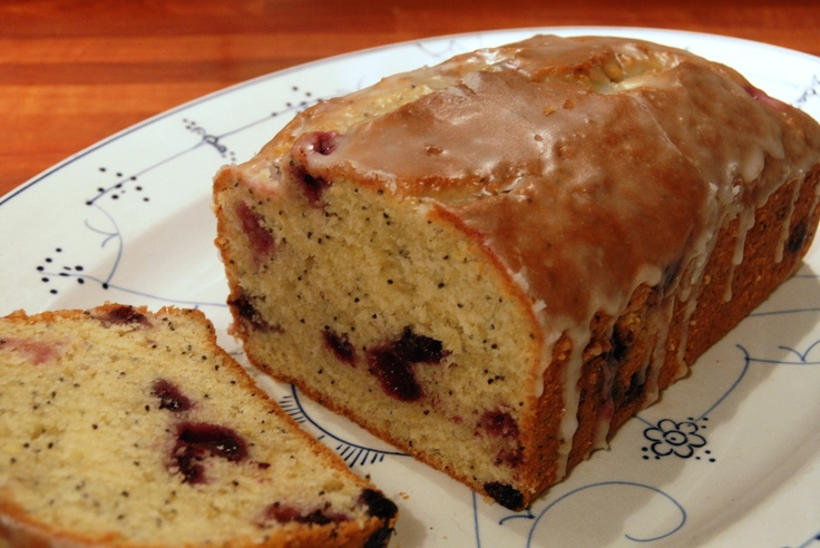 Lemon blueberry pound cake | Recipe