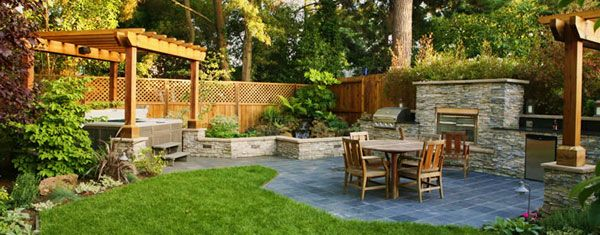 Backyard Designs 41 backyard design ideas for small yards Superb Extreme Backyard Designs In Ontario On Inspiration Article