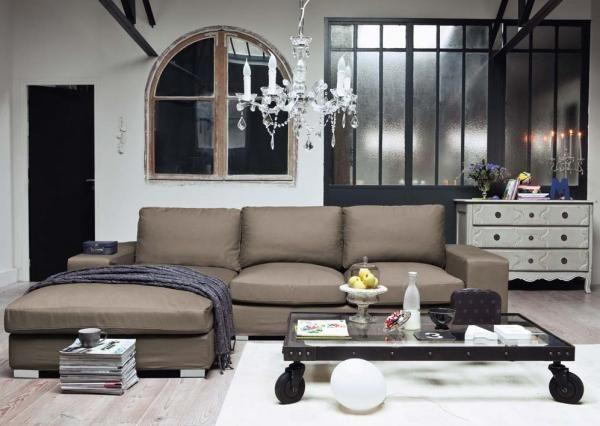 Maisons du monde canapé  décoration  Pinterest