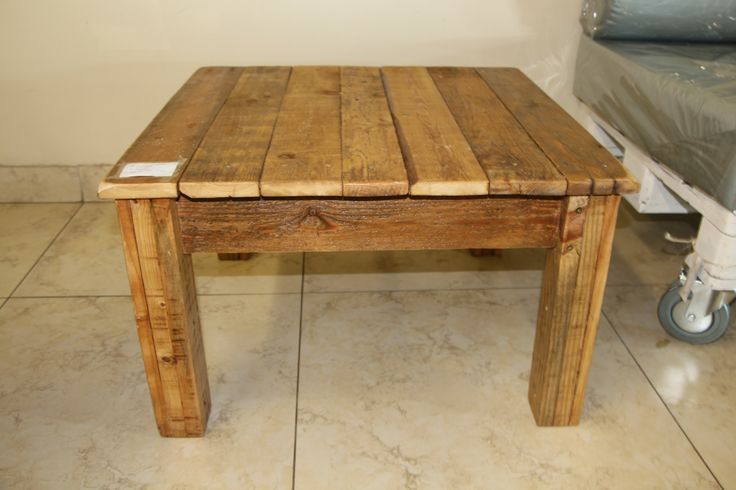 Reclaimed Wood Accent Tables Oregon Pine