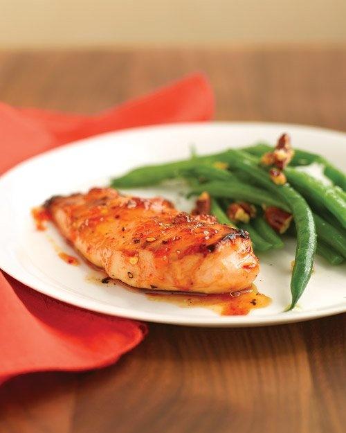 Spicy Apricot-Glazed Chicken | Recipe