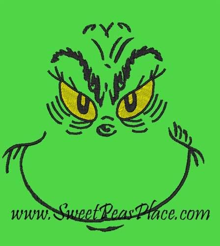 Grinch face | GRINCH | Pinterest