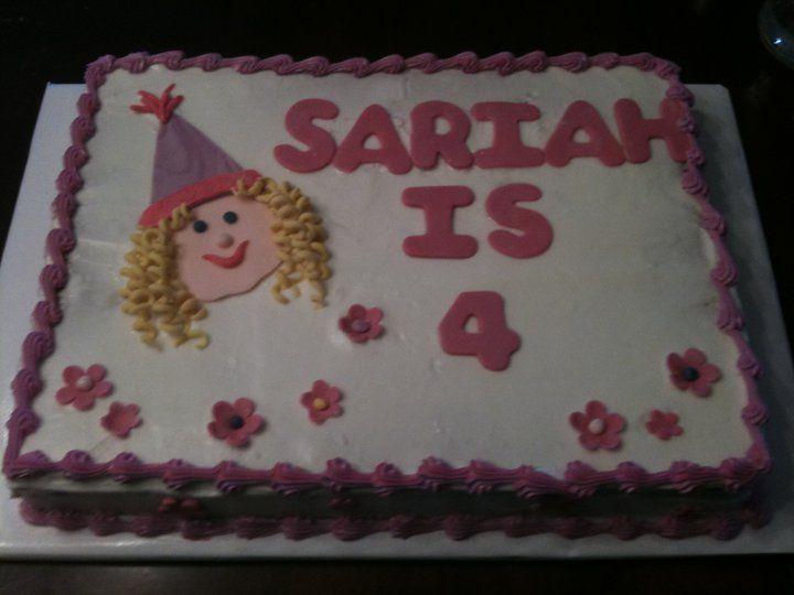 Birthday Cake Images For Small Girl : little girl birthday cake cakes Pinterest