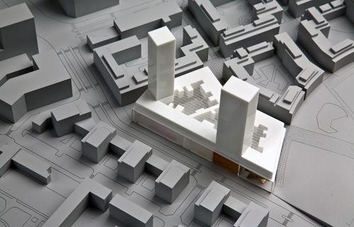 Rex architecture pc low2no architectural models for Rex architecture p c