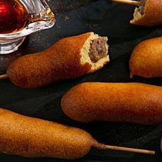 Breakfast Corn Dogs Recipe | breakfast/brunch | Pinterest