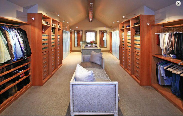 Big Closet Bedroom Closets Pinterest