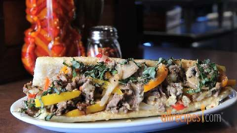 Sicilian Steak Sandwich: This jazzed up steak sandwich is a Sicilian ...