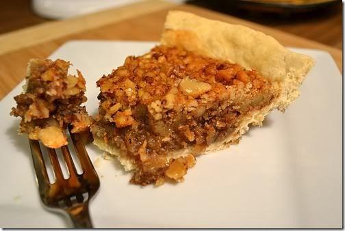 Maple Walnut Pie from TheFoodieArmyWife.com