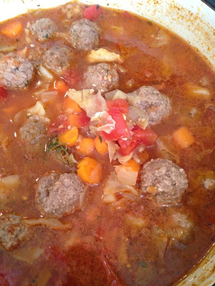 Albondigas Soup | Chili, Soups and Stews | Pinterest