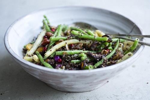 Green Bean and Quinoa Salad | Quinoa salads | Pinterest