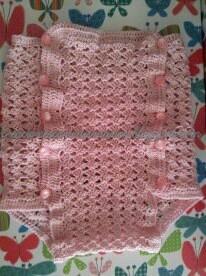 Cubre pañal a crochet   manosdehadita   Pinterest