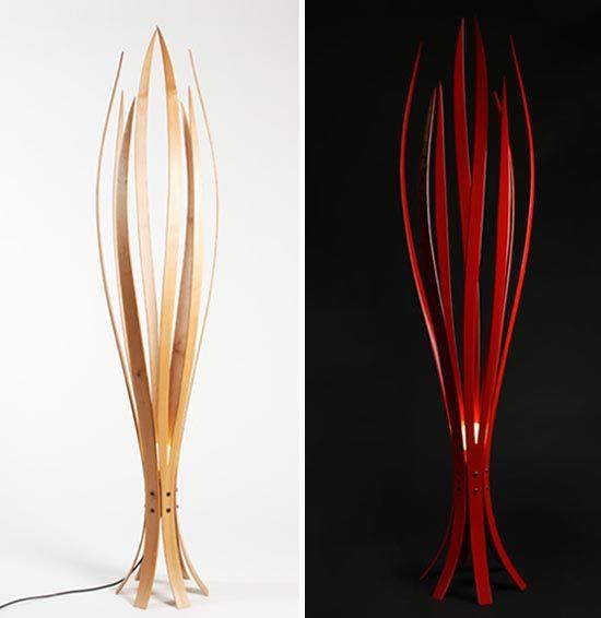 Wooden Floor Lamp Designs : Pin by J L++ on Inspiring Light Designs  Pinterest