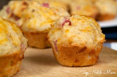 post these mini ham amp cheese muffins are perfect for adults too ...