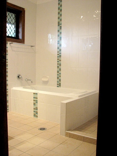 Green Mosaic Bathroom Feature Tiles To Show Nath Pinterest