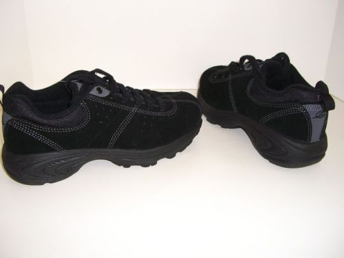 Easy Spirit Womens Shoes Athletic Sneakers Black Size 5