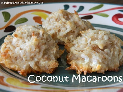 Coconut Macaroons - Love these!