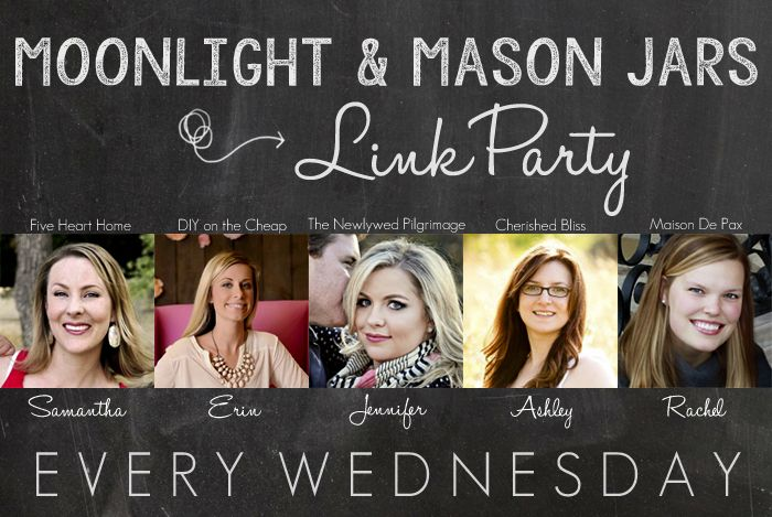 Moonlight and Mason Jars Wednesday Link Party