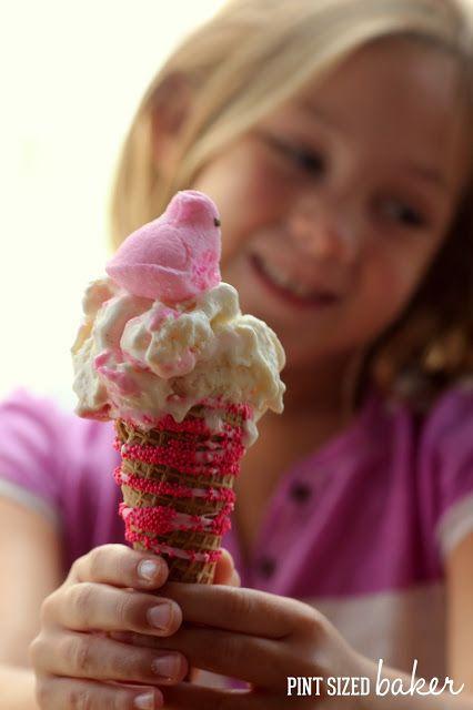 Peeps Bubble Gum Ice Cream | Recipe