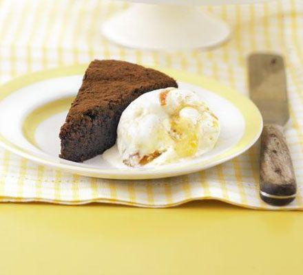 Mascarpone & marmalade ice cream recipe - Recipes - BBC Good Food