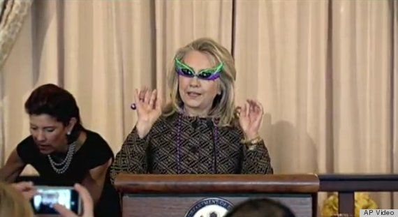 The fun just never stops!  hillary clinton sunglasses