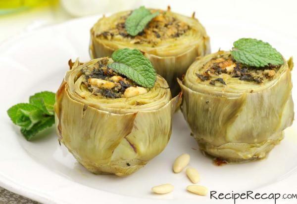 Italian Stuffed Artichoke Recipe | easy-peazy~~ | Pinterest