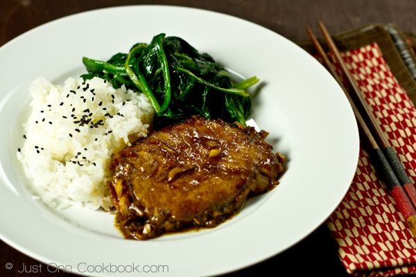 Asian Pork Chop (Ginger Soy Sauce) | Recipe