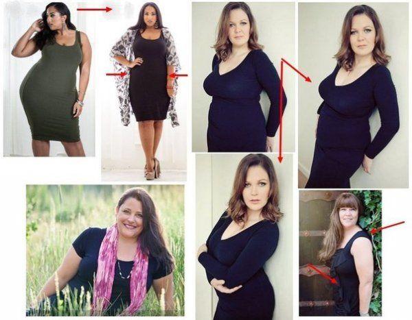 Как себя сделать худее на фото 138