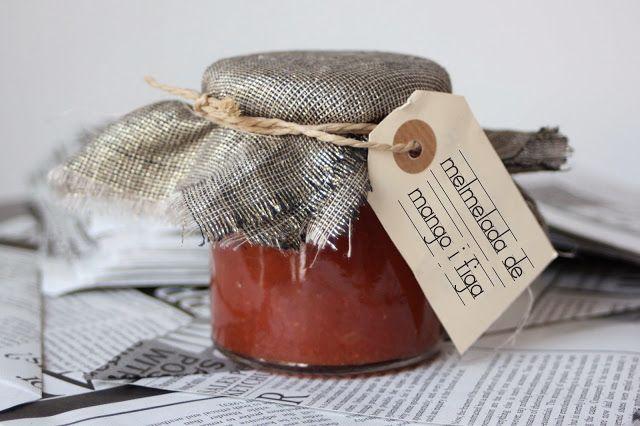 Mango jam, fig and vanilla From:elmondejuju.blogspot.com