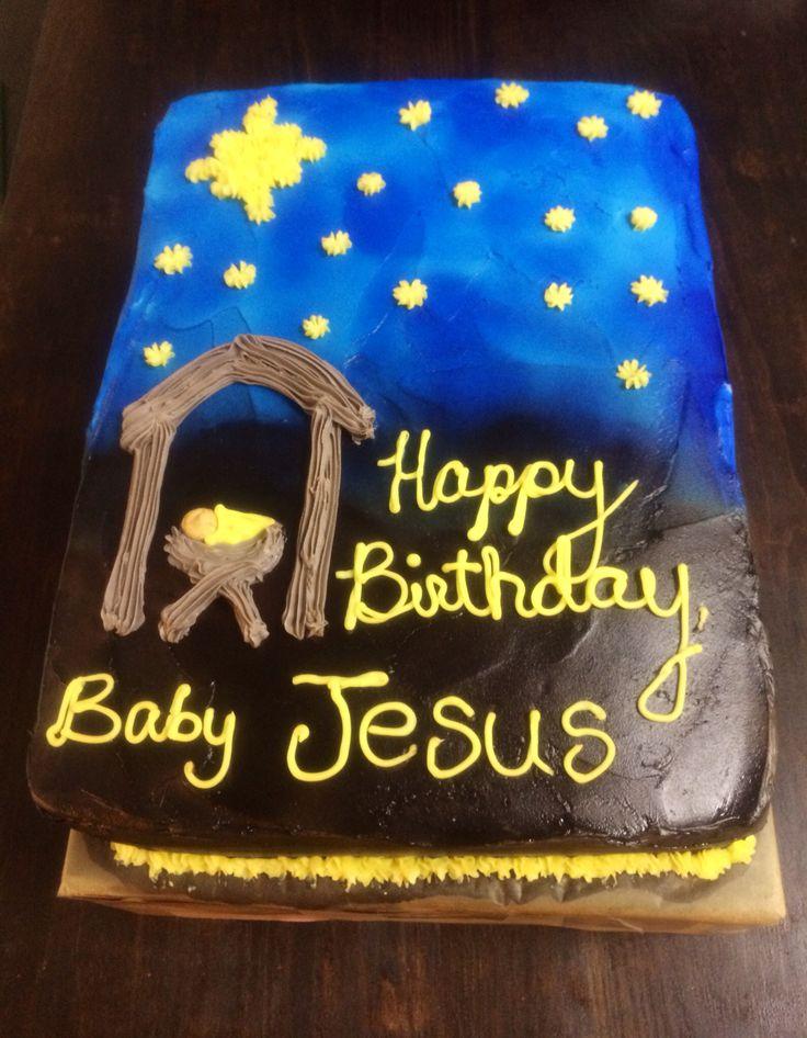 Happy Birthday, Jesus Cake Kids & Christmas! Pinterest