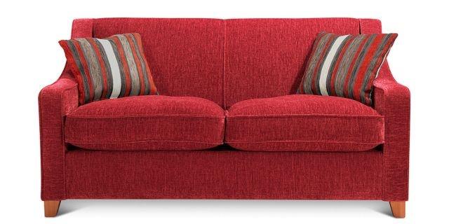 Small Red Sofa Home Decor Pinterest