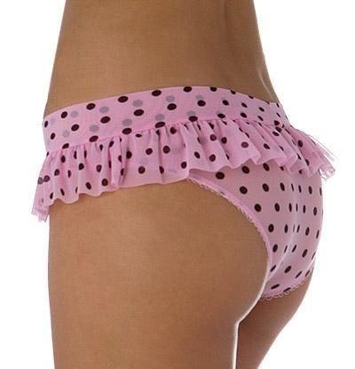 Pink Polka Dot Panties 93