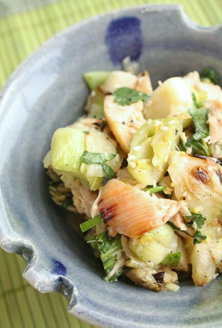 Chicken and Bok Choy Salad | TO NOURISH MY FAMILY | Pinterest