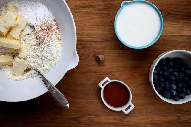 maple blueberry scones | sweets | Pinterest