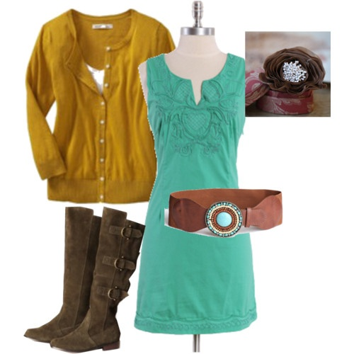 country dress outfit !!! <3