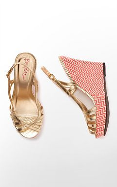 Lilly Pulitzer - Shoes Sophie Strappy Wedge $198
