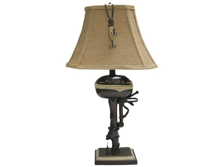 Boat Motor Table Lamp Hobby Lobby