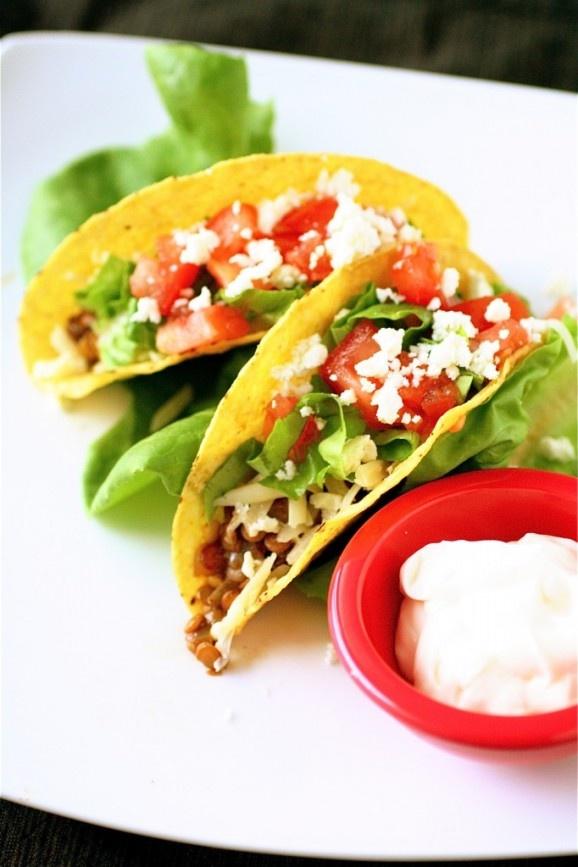 Vegetarian Tacos | Foooood | Pinterest