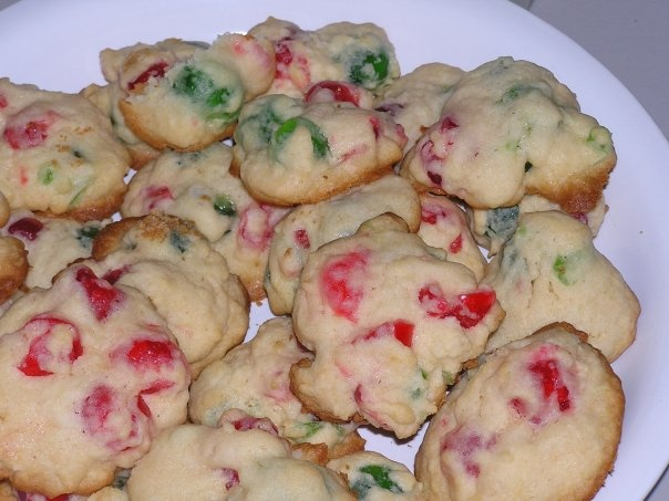 Candied Cherry Christmas Cookies | holiday fun! | Pinterest