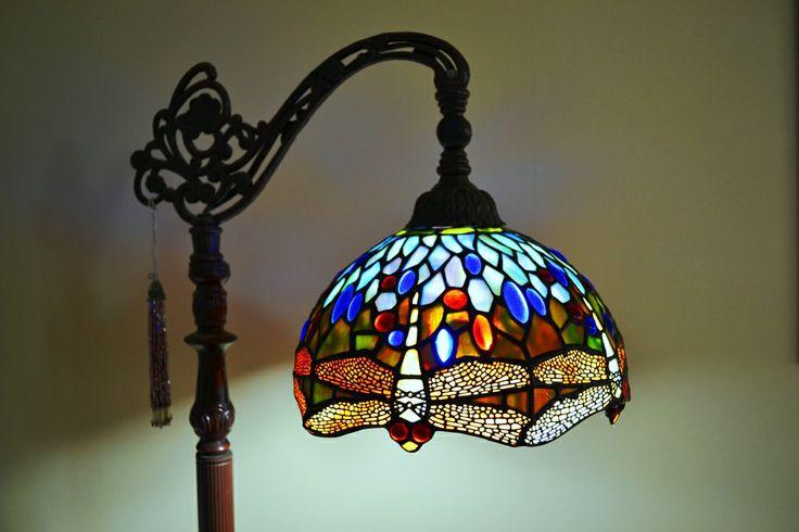 Dale Tiffany Dragonfly Floor Lamp