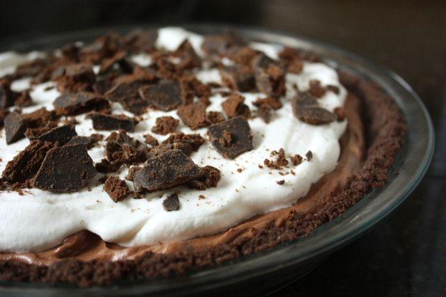Chocolate Thin Mint Pie | Pies | Pinterest