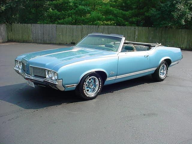 1970 Cutlass Convertible, in a sky blue, is my dream car...One of these days...