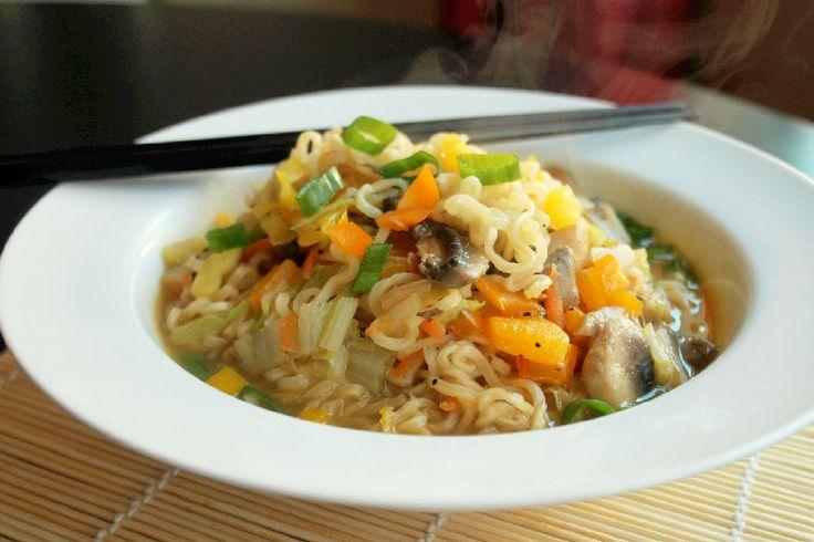 tom yum noodle soup new year noodle soup quick tofu ramen noodle soup ...