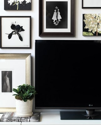Spicer + Bank: by Allison Egan: Designer Tip: A Beautifully Hidden TV