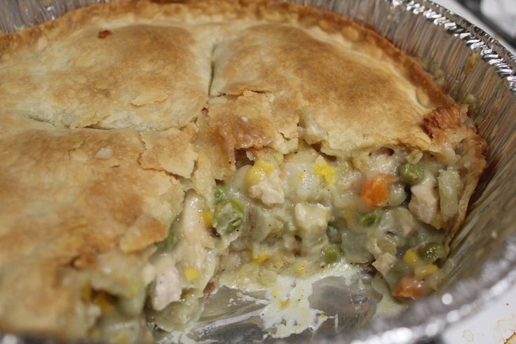 Chicken Pot Pie (freezer meal) - this was alright, not my favorite pot ...