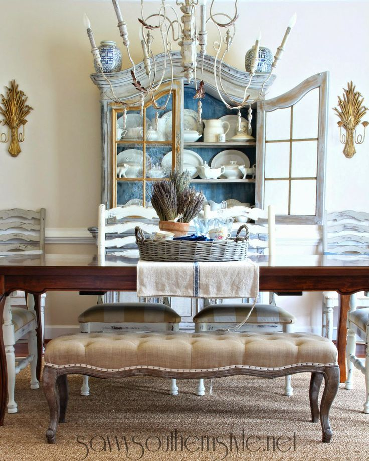 Pin by savvy southern style on fabulously creative diy for Southern dining room