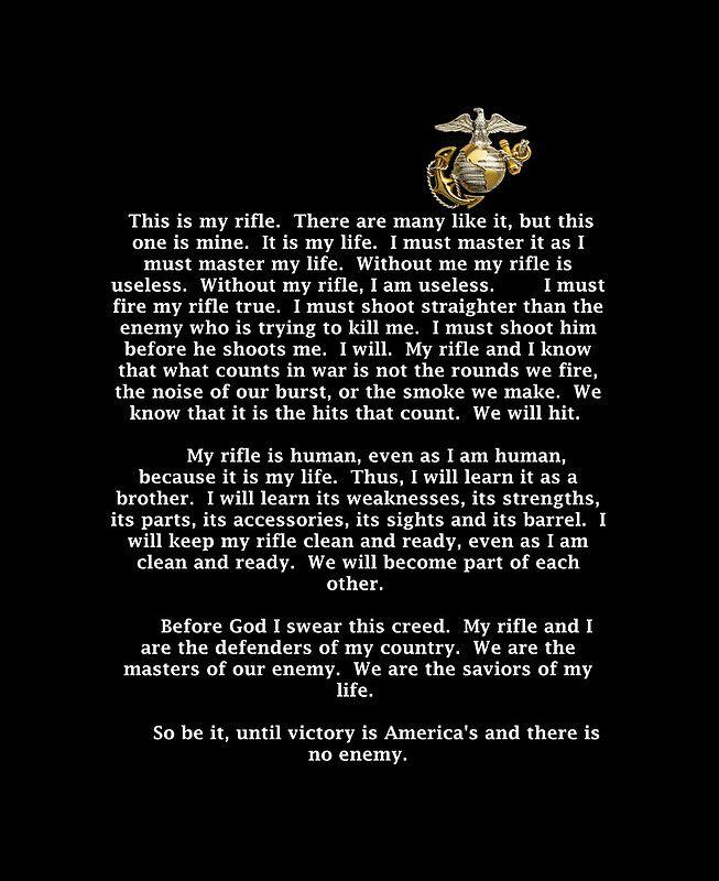 marine corps nco creed